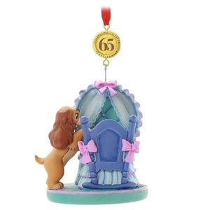 Lady & the Tramp Legacy Ornament 65th Anniversary